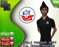 Machine wash at 40 °c on a gentle cycle so you can polo shirt. Second Life Marketplace Sd Football Fan Shirt F C Hansa Rostock