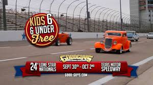 The Goodguys are back with the 24th Lone Star Nationals Giant Car Show at Texas Motor Speedway