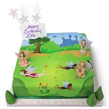 Fairy Garden Birthday Cake Girls Birthday Cakes The Brilliant Bakers
