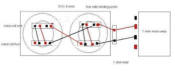 subwoofer wiring diagrams, two 2 ohm dual voice coil (dvc Dual 1 Ohm Sub Wiring Diagram how to wire two 4 ohm dvc subs, wiring diagram dvc 1 ohm wiring diagram