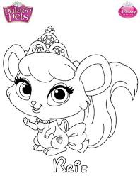 Small Picture Disney Coloring Pages Palace Pets Amazing Coloring Disney Coloring