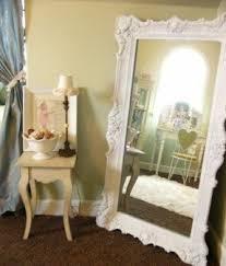 white floor mirror. White Leaning Floor Mirror E