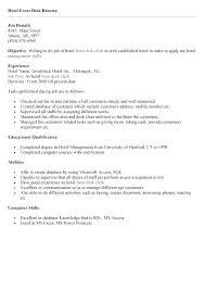hotel front desk clerk resume objective job description for sample duties throughout plan hotel front desk job