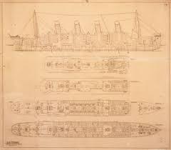 titanic blueprint 4414343 framed