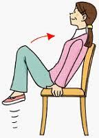 座りながらできるエクササイズ