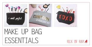 every has her number one essentials in her favourite make up bag whether a total make up obsessive or not from the most mermazing brushes from