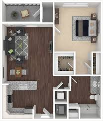 spectra luxury apartments a1 floorplan features 1 bedroom and 1 bathroom 700 square feet