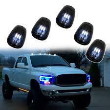 Ford F150 Running Lights Us 24 6 18 Off New Products 5pcs Amber White Car Roof Marker Lights Lamp For Jeep Truck Suv Ford F150 Dodge Ram Cab Roof Marker Running Lights In