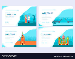 Russia Country Vacation Travel Tour Concept
