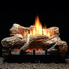 white mountain hearth by empire 18 inch flint hill gas log set with vent
