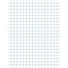 School Smart Graph Paper 8 1 2 X 11 Inches 1 2 Inch Rule White