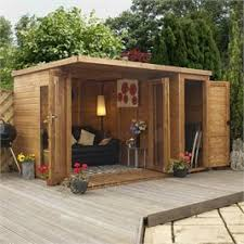 summer house office. 12 X 8 Waltons Contemporary Summerhouse With Side Shed (RH) Summer House Office E