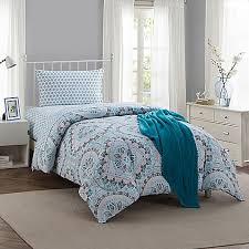 College Dorm Comforters & Twin XL Bedding Sets - Bed Bath & Beyond & image of Montoya 16-Piece Twin/Twin XL Comforter Set in Teal Adamdwight.com