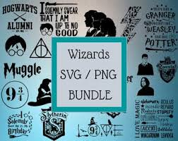 From simple banners to lovely farmhouse style designs, you'll find tons of fun svg files in their more free svg file blogs and websites. Harry Potter Svg Bundle Etsy