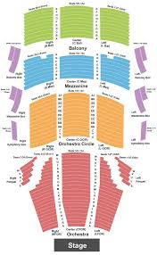 Weidner Center For The Performing Arts Seating Chart Green Bay