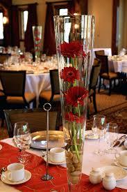 vase centerpiece ideas glass cylinder tall clear large . vase centerpiece  ideas ...