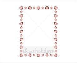 Holiday Templates 19 Holiday Border Templates Free Psd Vector Eps Png Format