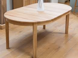 solid wood oval extension dining table room ideas