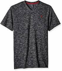 U S Polo Assn Mens Space Dyed V Neck T Shirt Choose Sz Color Ebay