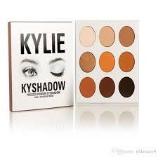 kylie jenner eyeshadow palette bronze eye shadow palette cosmetics palette in dhl fre high quality best matte makeup applying eyeshadow from dhbeauty4