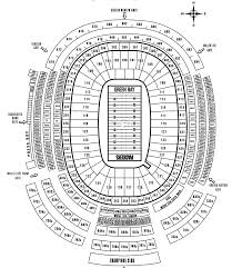 Lambeau Field Seating Chart Lambeau Field Tickets Lambeau Field Seating Chart Ticket