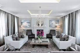 transitional living room furniture. Living Room Furniture Fireplace Transitional With Black Armchair Pelmet Lighting Mirrored Coffee Table