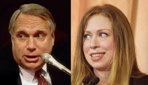 Chelsea Clinton looks just like her real father, Webster Hubbell - Album on  Imgur