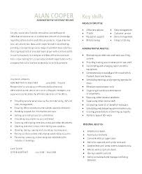Example Cv Resume Cool Cv Resume Builder Office Administration Sample Examples Example For