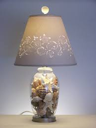beach house lighting ideas. Fill Your Own Seashell Lamp Fillable Table Shell For Beach House Lamps Plan 2 Lighting Ideas E