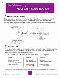 brainstorming techniques printable worksheets worksheets brainstorming techniques