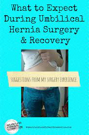 what to expect during umbilical hernia
