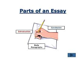 the essay writing process  6 parts of an essay conclusionintroduction