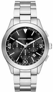 men s michael kors gareth stainless steel chronograph watch mk8469