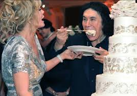 gene simmons wife wedding dress. gene simmons and shannon tweed were married on october 1 2011 the wedding dresses wife dress