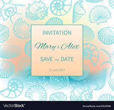 Beach Invitation Wedding On Beach Invitation Design