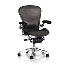 Aeron Chair Executive Platinum by Herman Miller Fully Loaded - HML1035