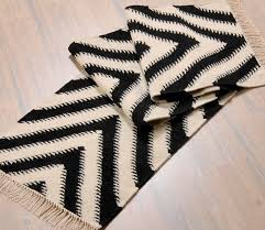 amazing home brilliant black and white runner rug at sloan black and white runner rug