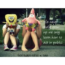 Image result for we never really grow up