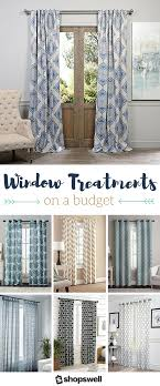 curtains for home office. Curtains On A Budget: 16 Gorgeous Window Panels Under $35 For Home Office M