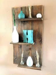 wooden wall bookshelves en shelves design rustic bookshelf mounted wa