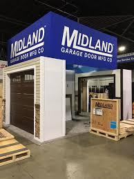 midland garage door we re at the idaexpo in atlanta ga
