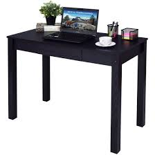 work tables for home office. Costway Black Computer Desk Work Station Writing Table Home Office Furniture W/Drawer Tables For