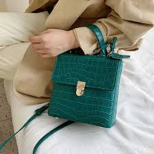 <b>Stone Pattern</b> Leather <b>Crossbody</b> Bags For <b>Women</b> 2019 Fashion ...