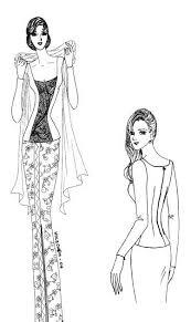 Cara menggambar sketsa mode 15 langkah dengan cara gambar sketsa desain baju garlerisket. 28 Gambar Desain Baju Gaun Yang Mudah Digambar Pose Ini Paling Mudah Digambar Dan Anda Bisa Membuat Ilustrasi Desain Anda Dalam Tampilan Gambar Menjahit Pola