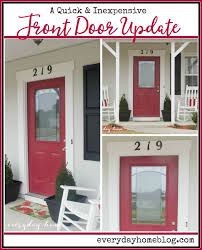 how to easily update your front door