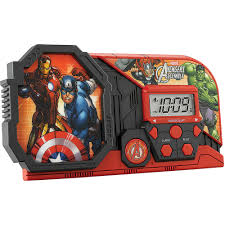 Avengers Assemble Night Light Kid Designs Avengers Assemble Night Glow Character Alarm