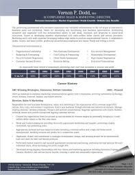 Sales And Marketing Resume Samples Sales Marketing Director Resume Sharon Graham 87
