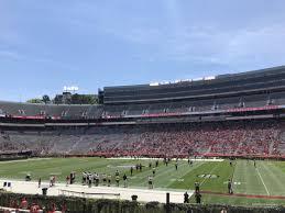 Sanford Stadium Section 105 Rateyourseats Com