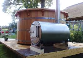 northern lights cedar tubs wood fired hot tub heater wood stove for hot tub