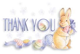 Thank You Easter Photo Thank You Easter Bunny Eggs Ani Thank You Album